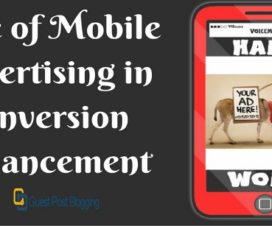 Role of Mobile Advertising in Conversion Enhancement