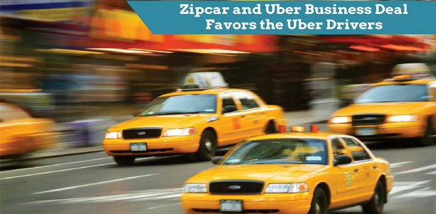 Zipcar and Uber Business Deal Favors the Uber Drivers