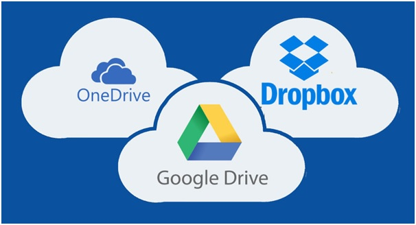Google Drive Suite, Dropbox, One Drive