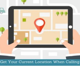 How To Get Your Current Location When Calling For Help