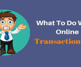 What to do when online transaction fails