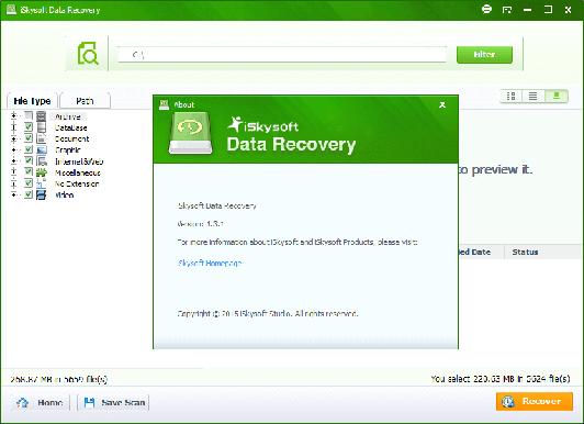 iSkysoft Toolbox - iOS Data Recovery