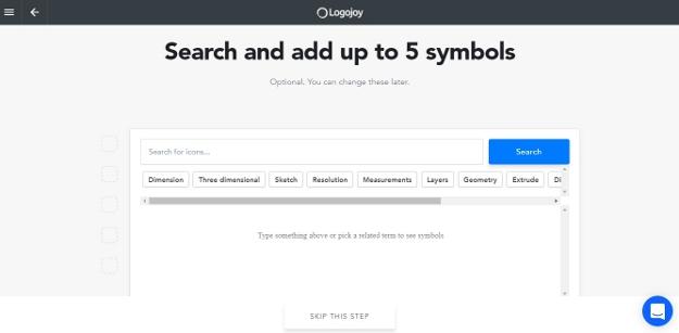 Add up to 5 symbols