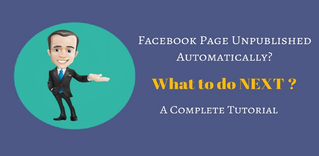 Facebook Page Unpublished Automatically