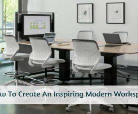 How To Create An Inspiring Modern Workspace