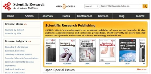 Scientific Research