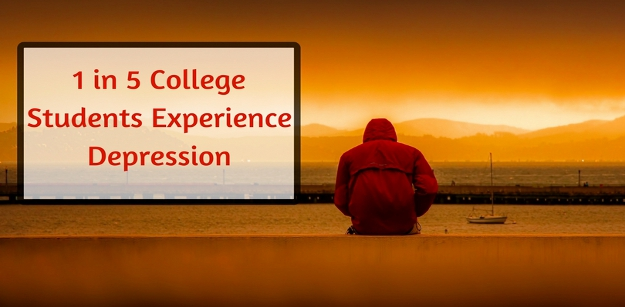 1 in 5 college students experience depression
