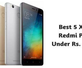 Best 5 Xiaomi Redmi Phones