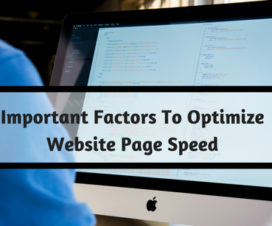 Important Factors To Optimize Website Page Speed