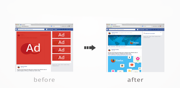 Block Facebook Ads with a Chrome Extension