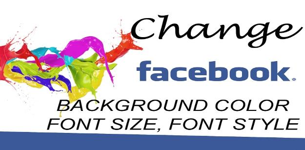 Change your Status Update Font in Facebook