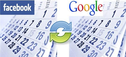 Sync your Facebook Calendar with Google Calendar