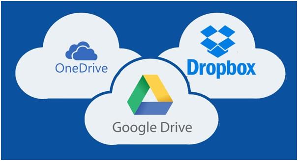 Google Drive Suite, Dropbox, One Drive