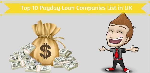 Top 10 Payday Loan Companies List in UK