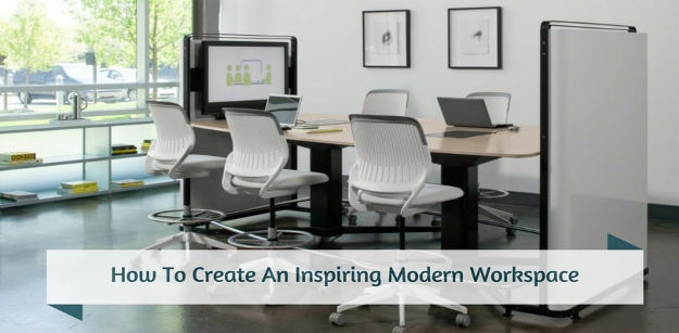How To Create An Inspiring Modern Workspace