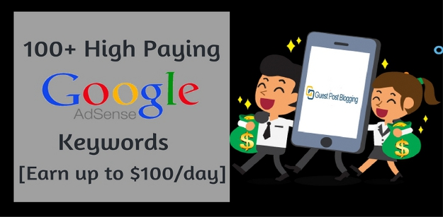 high paying google adsense keywords earn online