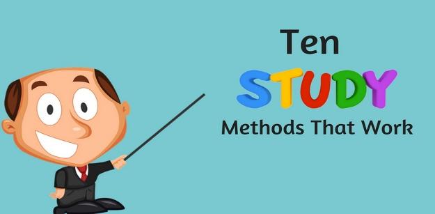 Ten Study Methods That Work