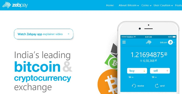 Zebpay - Indian Bitcoin Exchange