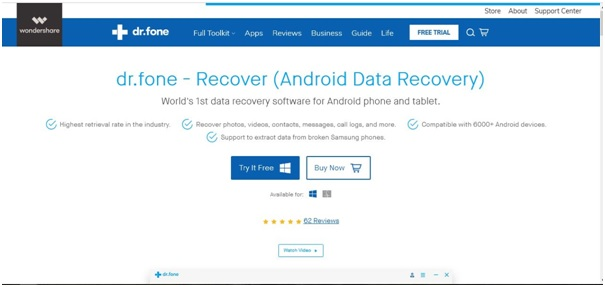 dr.fone - Recover (Android)