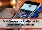 Best Ecommerce Platforms For Enterprise Businesses