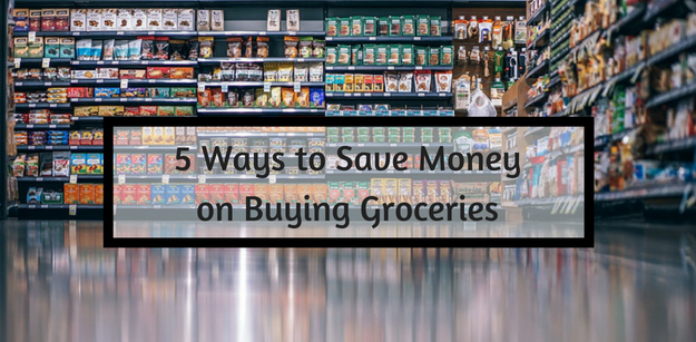 5 Ways to Save Money on Buying Groceries