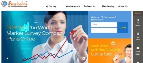 Ipanel Online - surveys for money
