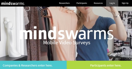 Mind Swarms - online surveys that pay cash