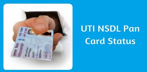 UTI NSDL Pan Card Status