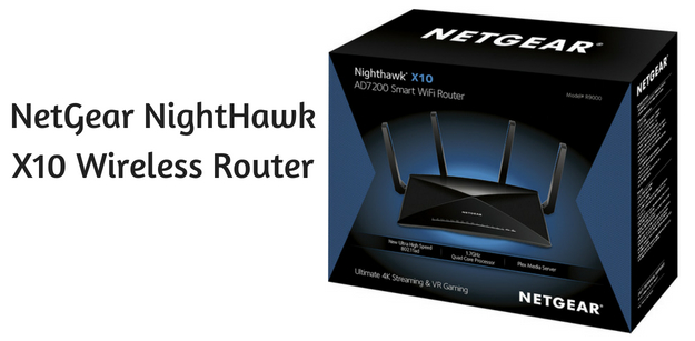 NetGear NightHawk X10 Wireless Router