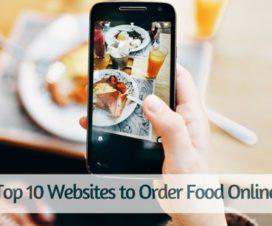 Top 10 Websites to Order Food Online