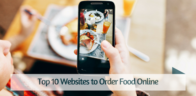 Top 10 Websites to Order Food Online