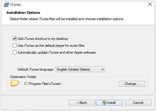 installing iTunes