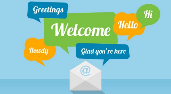 Make the first impression with a welcome email