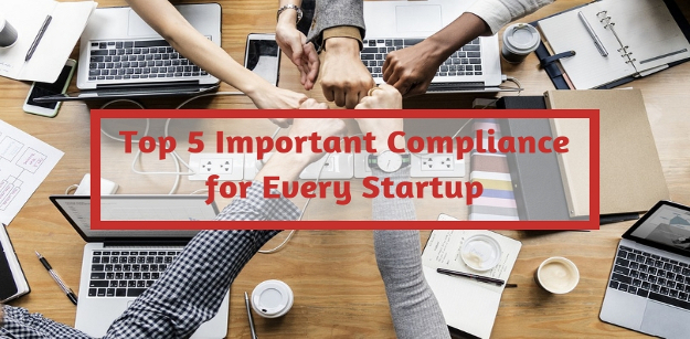 Top 5 Important Compliance for Every Startup