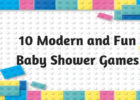 10 Modern and Fun Baby Shower Games
