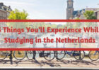 5 things you'll experience while studying in the Netherlands