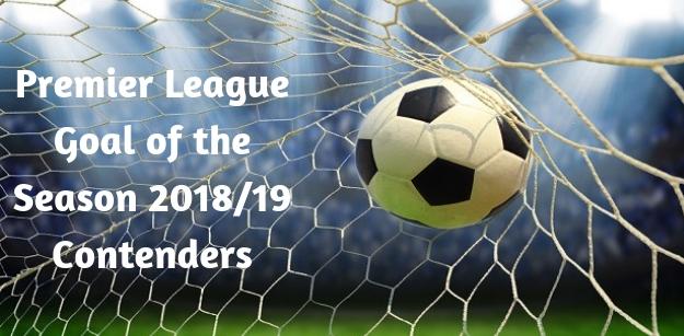 Premier League Goal of the Season 2018-19 Contenders