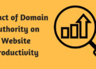 Impact of Domain Authority on website productivity
