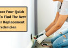 Here are four quick ideas to find the best heater replacement technician