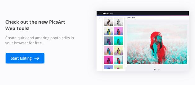 PicsArt - online photo editor