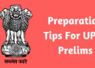 Preparation Tips For UPSC Prelims