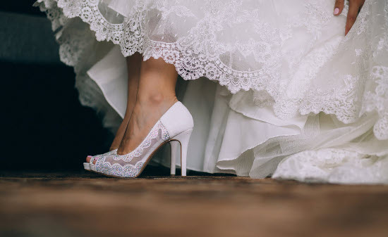 Wedding shoe for women