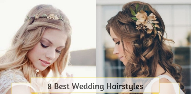 8 Best Wedding Hairstyles