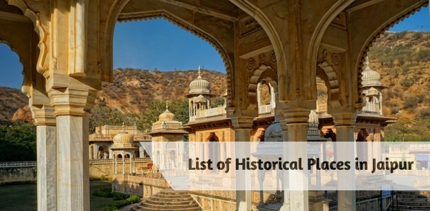 List of historical places in Jaipur
