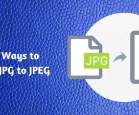 Best 3 Ways to Convert JPG to JPEG