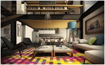 Demarcate Formal & Informal Spaces