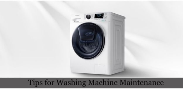 Tips to Maintain Your Washing Machine at Home