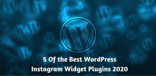 5 Of the Best WordPress Instagram Widget Plugins 2020