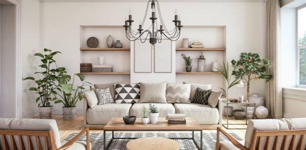 Apartment Living Room Decor in Budget